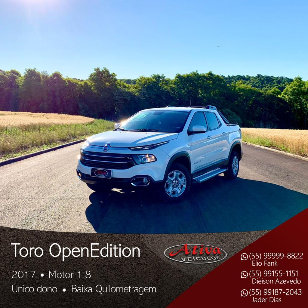 Toro Opening Edition 1.8 16V Flex Aut.