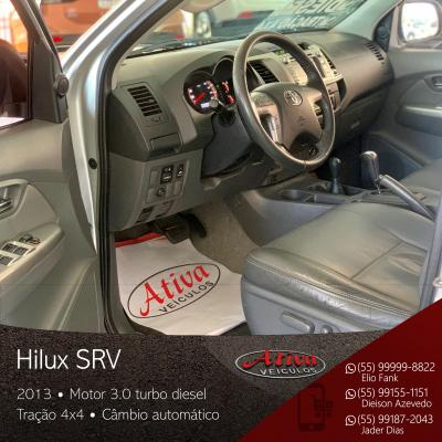 Hilux SRV 4x4 3.0 Diesel Aut.
