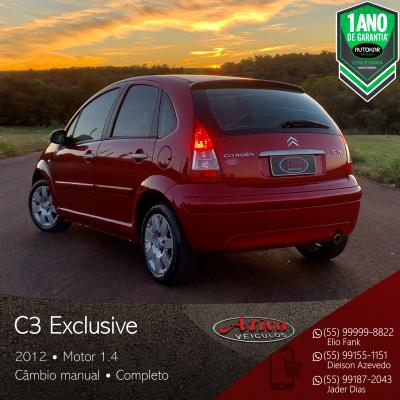 C3 Exclusive 1.4 Mec.