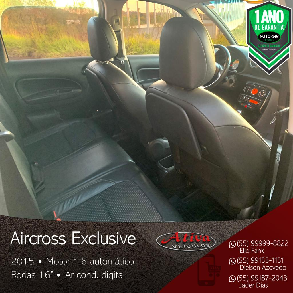 Aircross Exclusive 1.6 Aut.