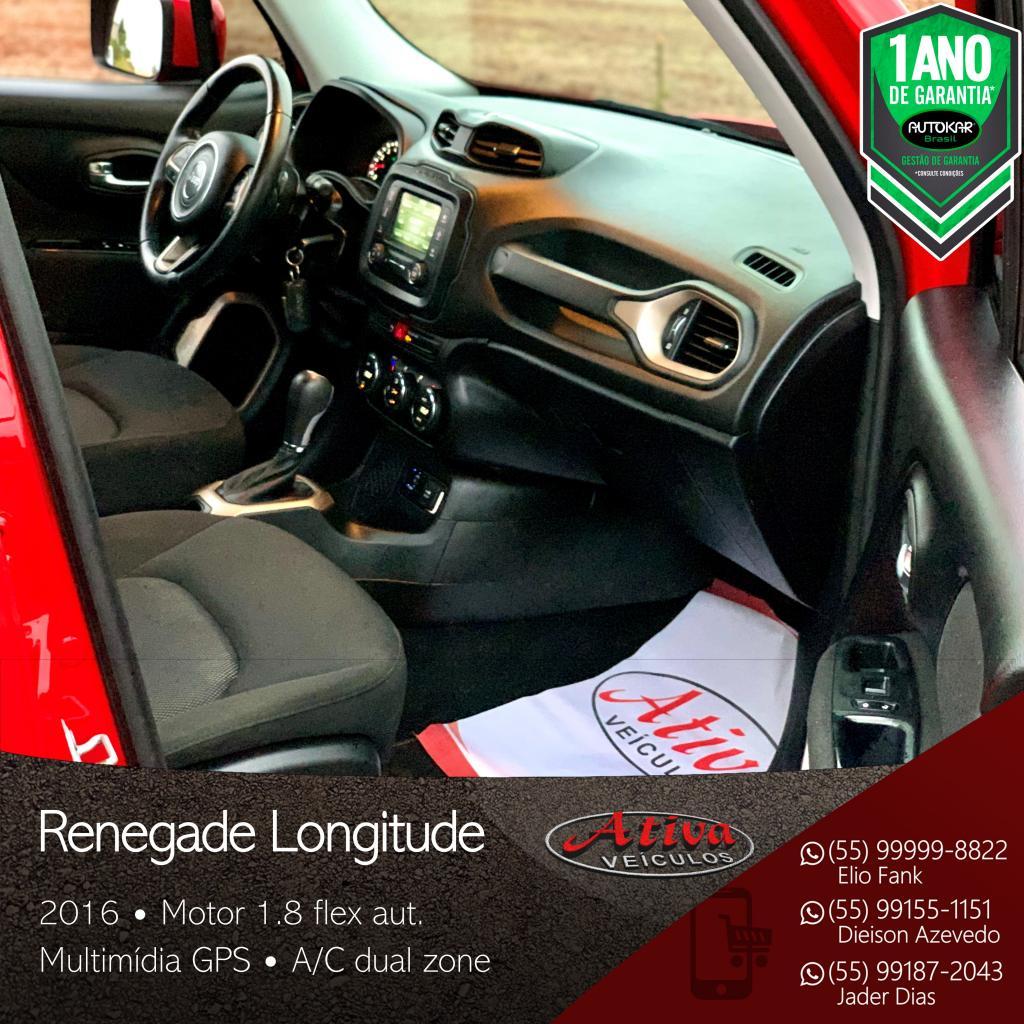 Renegade Longitude 1.8 Flex Aut.